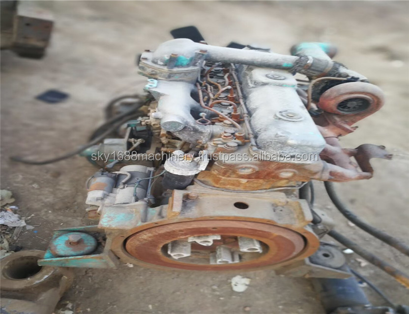 Secondhand Isuzu engine for excavator japan engine