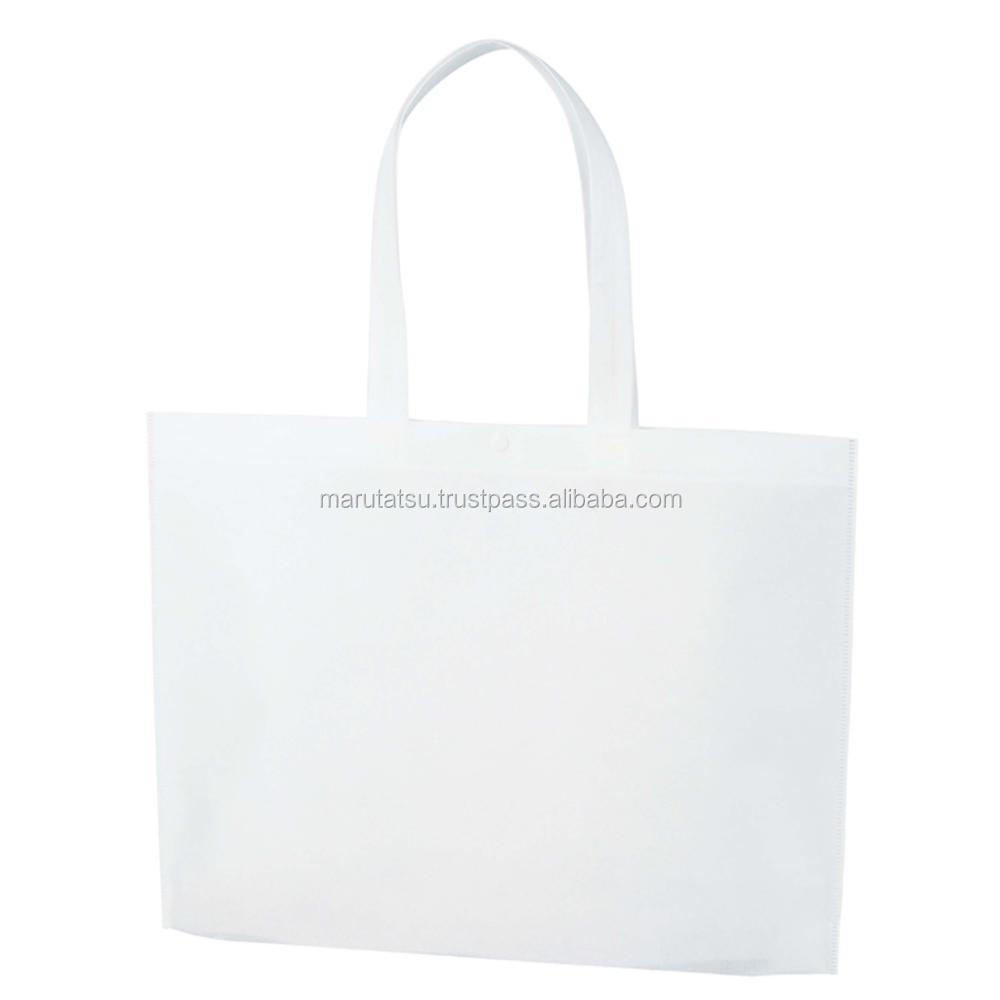 Reliable and Durable foldable polyester shopping bag Non-woven fabric A3 bottom gusset at reasonable pricesavailable