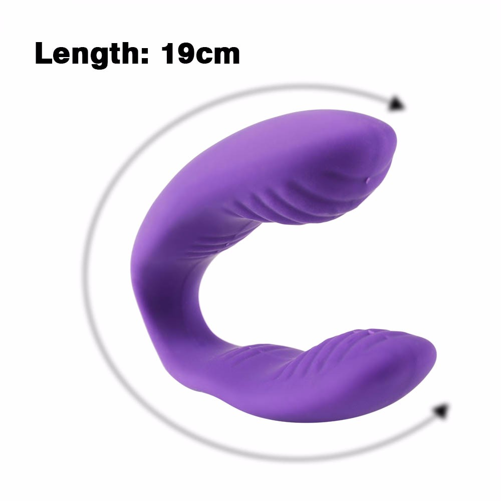 Waterproof U Type 10 Speed Vibrator USB Rechargeable for Female