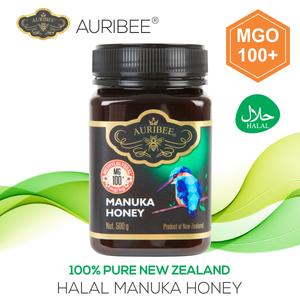 AURIBEE - Manuka MGO100+ 500g Halal honey New Zealand