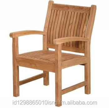 wholesale teak garden indonesia furniture Marley Arm Chair with competitive price