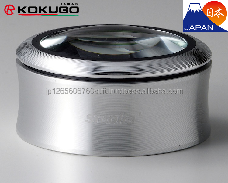 "Introduced by KOKUGO in Japan, Anyty Series LED Magnifying Glass / Loupe ""smolia"" from 3R Solution"