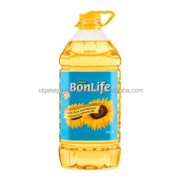 Bonlife sunflower oil - 5L PET KOSHER Certified , produced in Ukraine