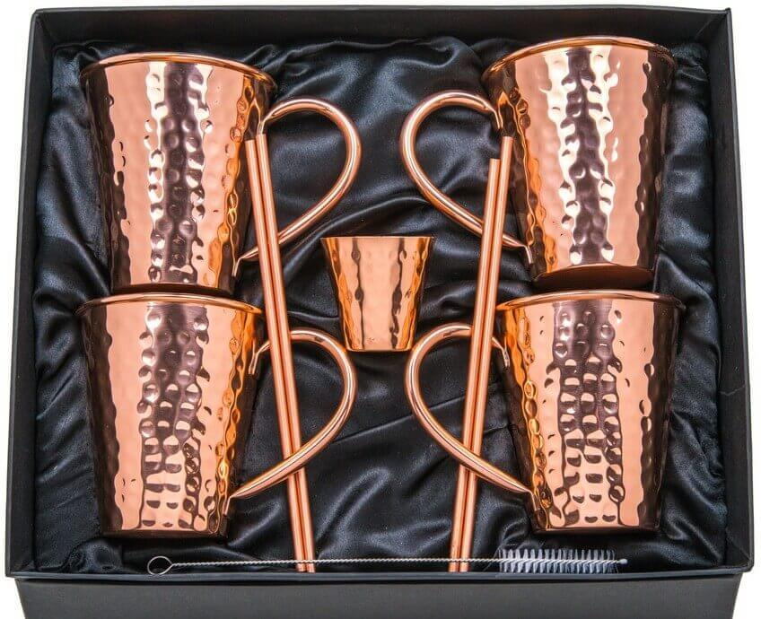 16 oz Moscow Mule Copper Mugs