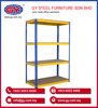 OEM Design High Quality Steel Boltless Rack with HDF Board - BRB