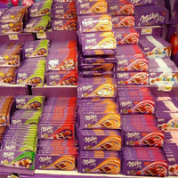 MILKA 100g Nut Cream Chocolate Ready for Export
