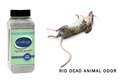 SMELLEZE Eco Yard & Concrete Smell Removal Deodorizer: 50 lb. Granules Rid Outdoor Odor