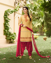 Latest Indian Pakistani Women Wear Fancy Modern Design Panjabi Patiala Salwar Suit