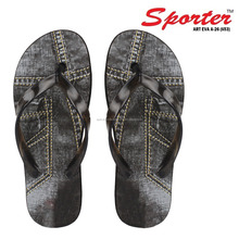 Sporter Men Grey-653 Casual Slippers