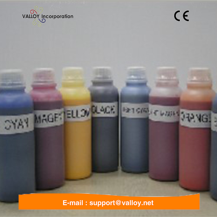 Silk Screen Printing Glass Ink, Sun Chemical ink For Silicone Wristband Printing