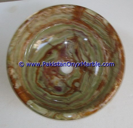 CUSTOM MADE HAND WASH DARK GREEN ONYX SINKS BASINS COLLECTION IN DIFFERENT SHAPED