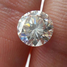 Wholesale MM Size White Moissanite Diamond