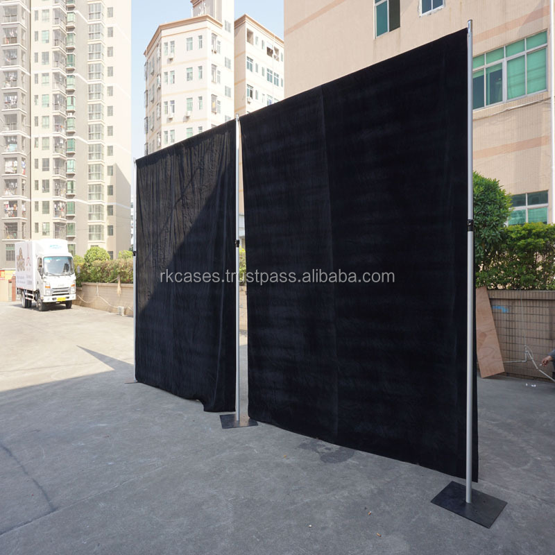 Wedding decoration event aluminium portable photo booth 3m*6m pipe drape system