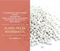 PE CACO3 FILLER MASTERBATCH/ PLASTIC FILLER FOR MAKING GARBAGE BAG