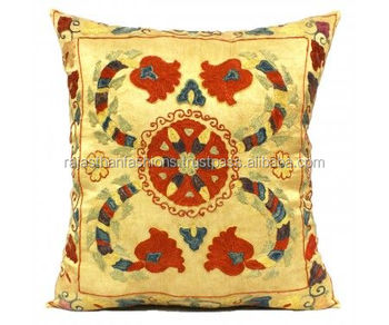 New Fashion Suzani Cushion Cover Indian Cotton Sofa Throw Cushion Cover Home Decorative