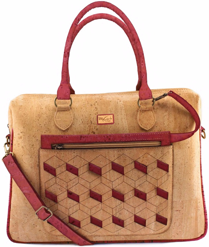 Women handbag from cork