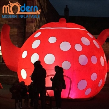 Alice In Wonderland Outdoor Yard Party Decoration Inflatable Teapot