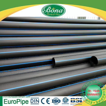 Industrial HDPE Water Pipe for Drainage, and Irrigation