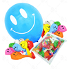 12inch Smilling Face 1 Side Printed Balloons *Assorted Color