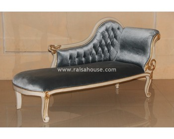 Indonesia French Furniture - Single End Sofa Jepara Furniture