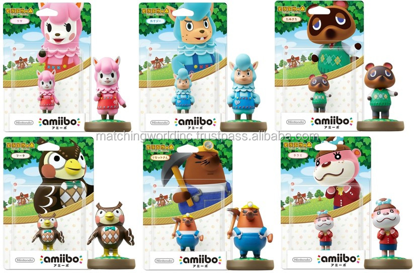 Various cute figures for game player are in stock