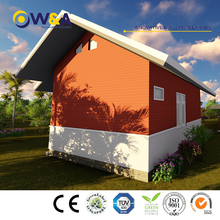 (WAS1006-45D)Green Environmental Prefabricated Houses /Prefab Construction House Manufacturer