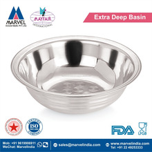 Extra Deep Basin With Plain Or Ring Design