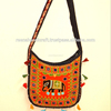 Handmade Tote Bag Embroidered Rajasthani Design Indian Crafts Bag Shoulder Bag
