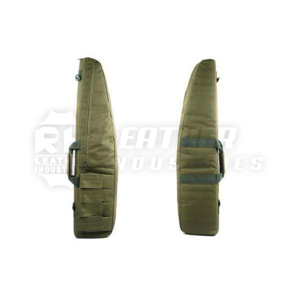Best Quality & Hot Sale Hunting / Shooting Outdoor Canvas Cotton Gun Cover / Bag With Foam Padding