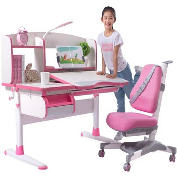 GMYD Children Furniture Child Adjustable Desk and Chair