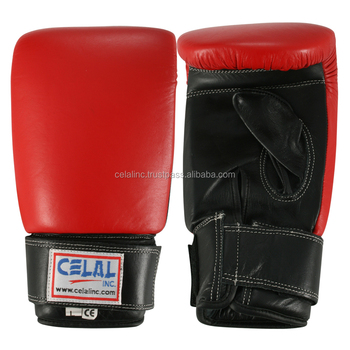 Red Color Genuine Leather High Quality Bag Gloves