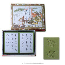 Traditional Japanese playing card game ( Karuta ) at reasonable prices