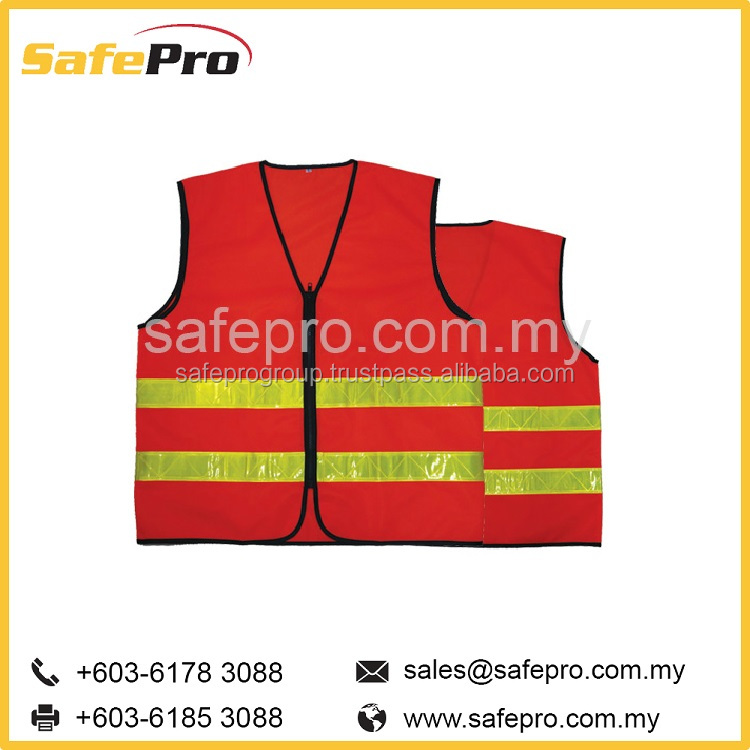 SAFEPRO CONSTRUCTION HIGH VISIBILITY REFLECTIVE SAFETY VESTS POLICE SECURITY LED VEST EUROPE SIZE 3M REFLEXITE WHOLESALE