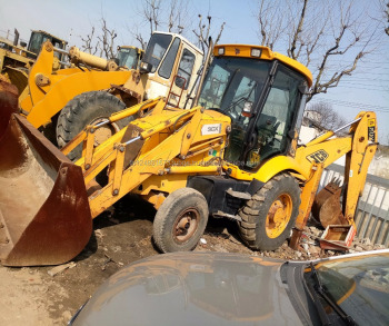 used backhoe JCB 3CX with good quality on hot sale in shanghai