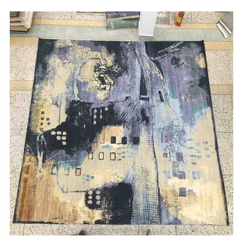 Top selling wool & Bamboo silk carpets