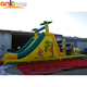 Cheap price jumping castles inflatable water slide/inflatable bouncer water slide for children