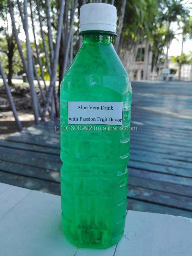 ALOE VERA DRINK WITH PASSION FRUIT