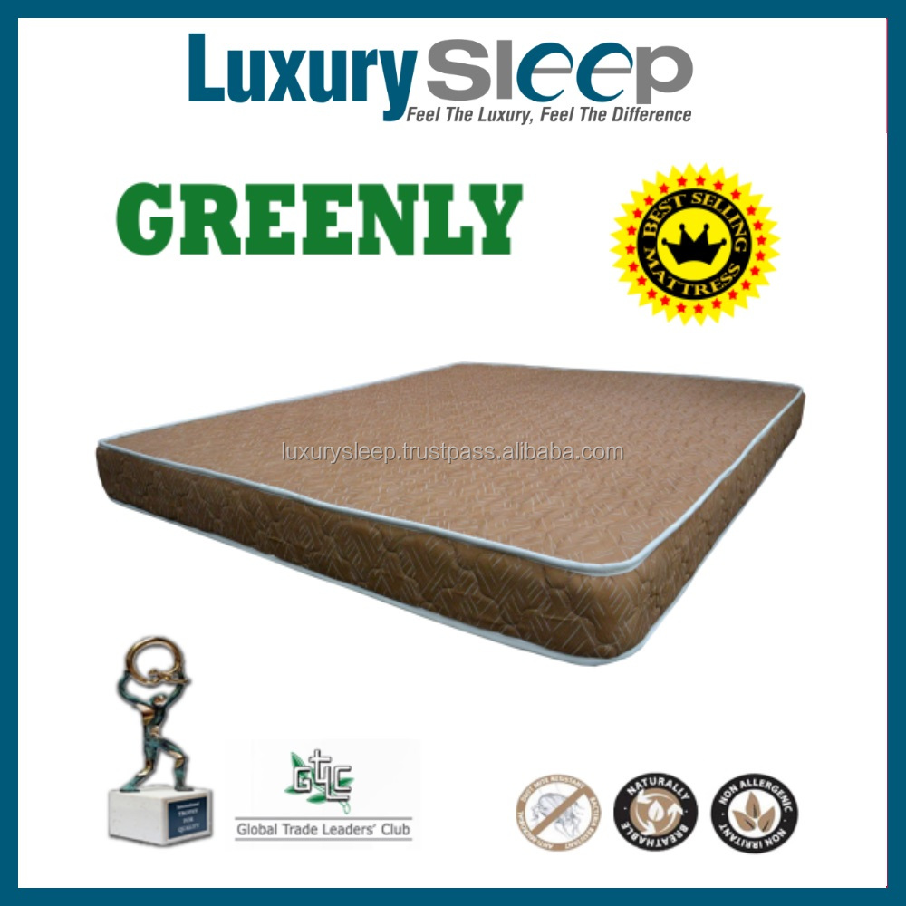 Greenly Hypoallergenic Waterproof Queen Size Mattress for Better Sleeping
