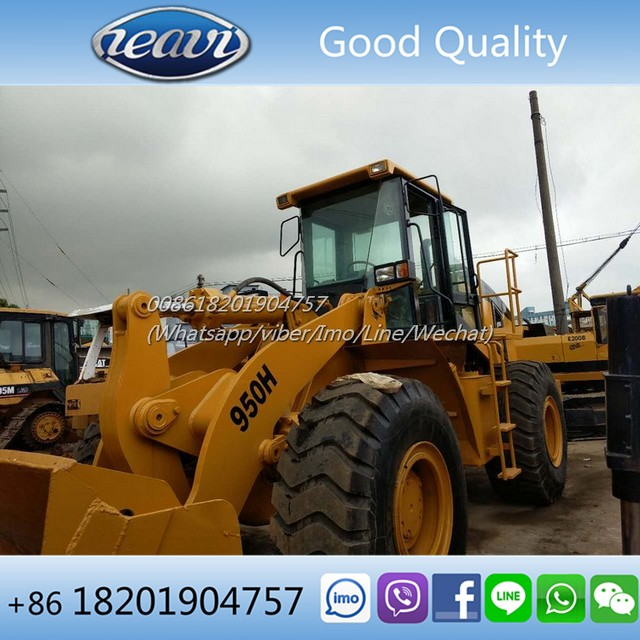 Good quality caterpillar 950 wheel loader, used cat wheel loader 950h