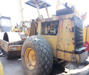 used road roller cat cs-531 with low price and high quality on hot sale in shanghai