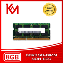 Laptop Memory 8GB DDR3 NON-ECC SO-DIMM RAM 1066MHz, 1333MHz, 1600MHz, 1866MHz