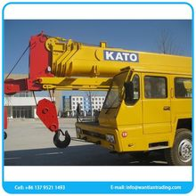 Heavy equipment cheap for sale kato 55ton used truck crane