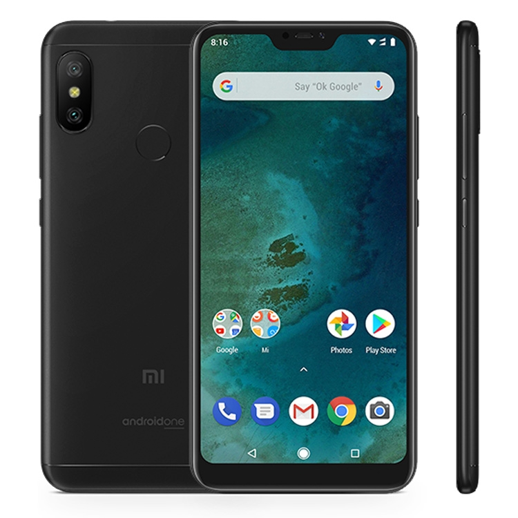 Dropshipping Xiaomi Mi A2 Lite, 4GB+64GB, Global Official Version <strong>Android</strong> One Smartphone Mobile Cell <strong>Phone</strong> 4G Network