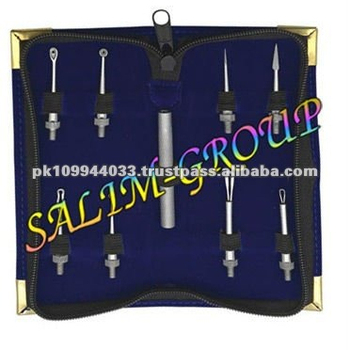 Cuticle Pusher Kit 9 Pieces