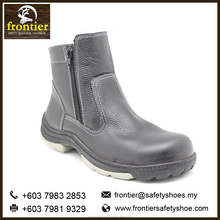 Frontier Best Quality Men's 6-Inch Single Zip Steel ToeCap Nailproof ESD/AntiStatiSafety Shoes in Malaysia India Dubai UEM