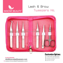 New Eyelash Extension Students Personal Kit / Scissors & Tweezers Kit For Professional Students Of Eyelash Salon And Studios