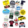 Top Quality Cheap Customized Hanging Paper Car Air Freshener With Customized Logo