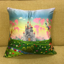 Sublimation Printed Satin Cushion cover