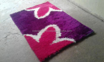 latest design and stylish polyester rug for home/office