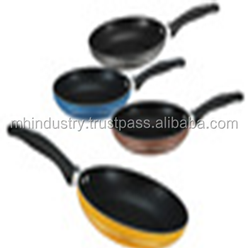 2017 hot sale colourful kitchen SGS aluminium Nonstick cooking pot in Pakistan